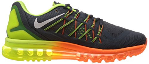 Nike Air Max 2015 Löpartröja Gymnastiksko Träkol / Orange / Volt