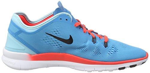 Nike Kvinders Frie 5,0 St Passe 5 Blå Lagune / Blk / Brght Crmsn / Cp Træning Sko 6 Kvinder Os