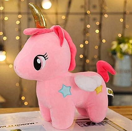 lili-nice Juguetes De Peluche Suave Unicornio Lindo Bebé Apaciguar Muñeca para Dormir Caballo De Peluche Animal Niñas Niños 20 Cm