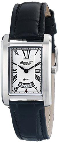 Ingersoll Women's INQ023WHSL Park Analog Display Japanese Quartz Black Watch