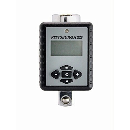 Digital Torque Adapter with Three Color LED and Progressive Audio Notification by Pittsburgh Professional