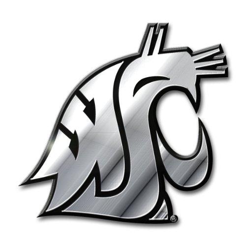 NCAA Washington State Cougars Chrome Automobile ()