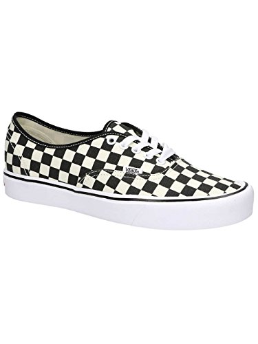 Black Shoes White Vans Adult Authentic Lite Unisex 7qxxXvFwI