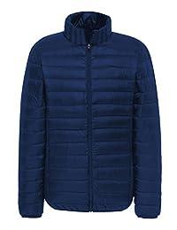 MADHERO Mens Packable Jacket Lightweight Outdoor Puffer Jacket Outerwear