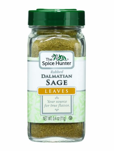 (The Spice Hunter Sage, Rubbed, Dalmatian, Leaves, 0.4-Ounce Jar)