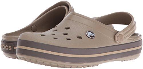 Unisex Adult Brown Crocs Clogs Crocband Espresso Khaki 5E7gqPw