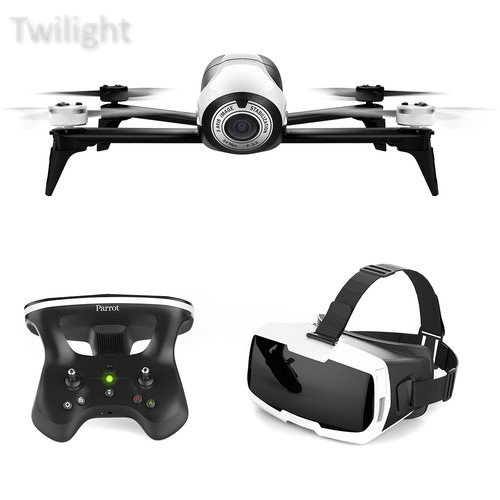 Price comparison product image Parrot BeBop 2 Drone with FPV Bundle (White)