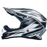 O'Neal 3 Series Hurricane Helmet (Black/White, X-Small)