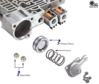 Sonnax 4L60-E 4L65-E 4L70-E Pinless Forward Accumulator Piston Kit