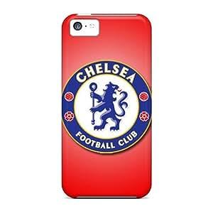MEIMEIFlexible Tpu Back Case Cover For Iphone 5c - Chelsea FcMEIMEI
