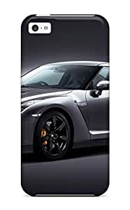 Tpu Case Cover For Iphone 5c Strong Protect Case - Nissan Gt-r 3545345 Design