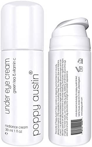 Eye Cream For Dark Circles, Puffiness & Wrinkles - HUGE 1 oz - Vegan, Cruelty-Free, Organic & Eco Friendly - Natural Anti Ageing, Under Eye Treatment with Green Tea & Vitamin C