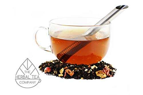 Echinacea Root Tea Loose Herb Winter Warmer Blend 100g Organic With Mint Flavour