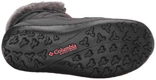 Columbia BY1334 - Botas bajas de invierno para niñas Negro (Shark, Melonade 011Shark, Melonade 011)