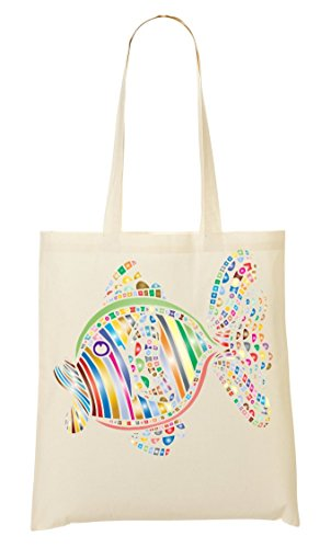 CP Fish Provisions Fourre Sac Graphic À Colorful Sac Abstract Tout q4OqwgP