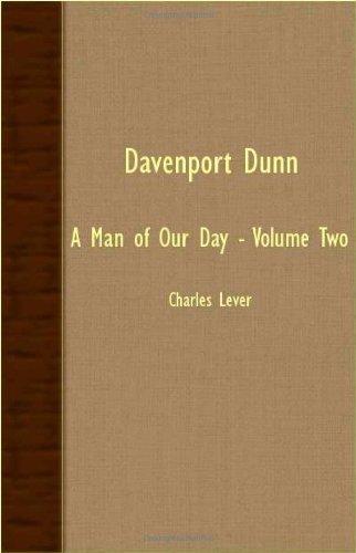 Davenport Dunn: A Man Of Our Day - Volume Two pdf epub