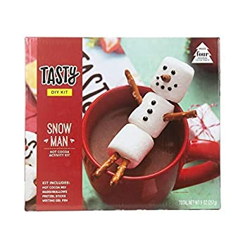 Amazoncom Tasty Snowman Hot Cocoa Activity Kit Includes Recipe
