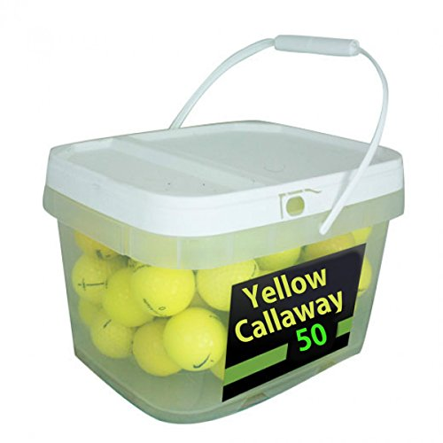 Callaway Yellow Premium Golf Balls (50 Pack)