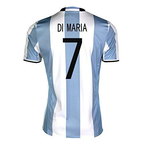 強い保持するびんDi Maria #7 Argentina Home Soccer Jersey Copa America Centenario 2016/サッカーユニフォーム アルゼンチン ホーム用 ディ?マリア 背番号 7