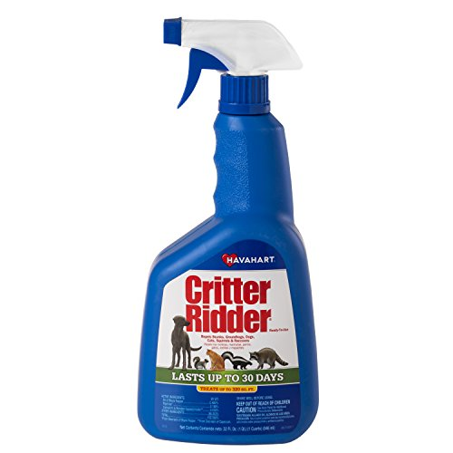Havahart Critter Ridder 3145 Animal Repellent, Ready-to-Use Spray, 32-Ounce ()
