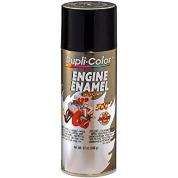 Dupli-Color EDE161307 Ceramic Gloss Black Engine Paint - 12 oz.