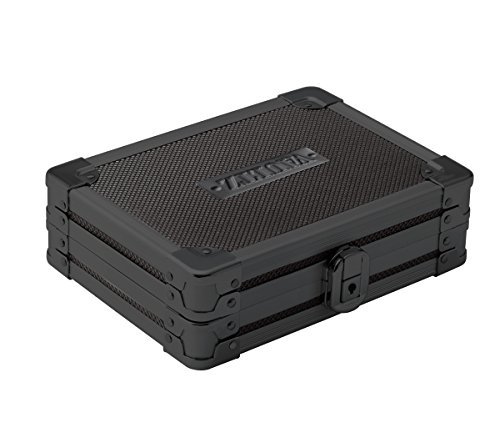 (Vaultz Locking Mini Utility Box, 1.75 x 4.5 x 5.75 Inches, Tactical Black)