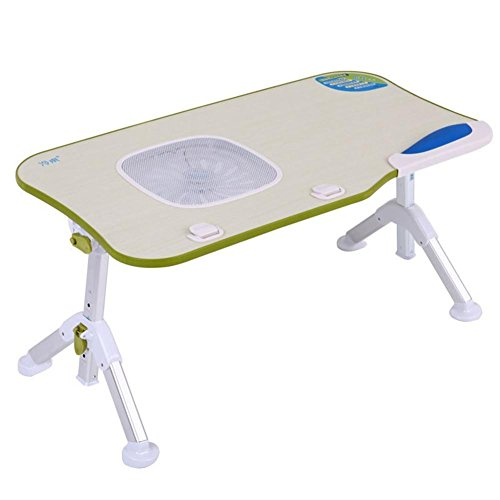 Muzyo Simple Laptop Table Student Dorm Computer Desk Folding Simple Bed Small Table, 1 by Muzyo