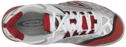 Tec SYS White S701 Red Hi Trainer Black Court 4 Sports Men's dXqRz