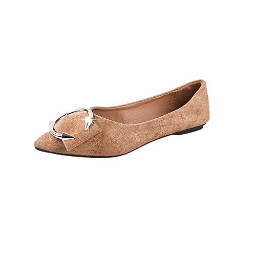 Donyyyy Calzado casual, primavera, verano, solo zapatos, de fondo plano, puntiagudo, perfil bajo, calzado casual. Thirty-nine