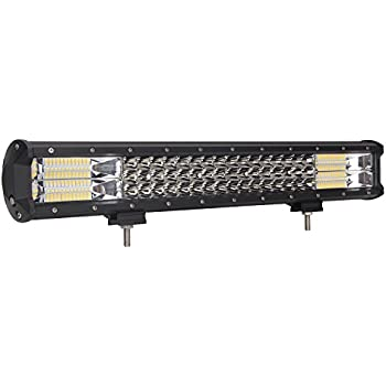 LED Light Bar, Northpole Light Triple Row 20 inch 288W Waterproof Combo Beam LED Light Bar Jeep Off-road Lights Driving Fog Lights with Mounting Bracket for Off Road, Truck, Car, ATV, SUV, Jeep