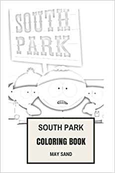Amazon South Park Coloring Book Legendary Animated TV Show