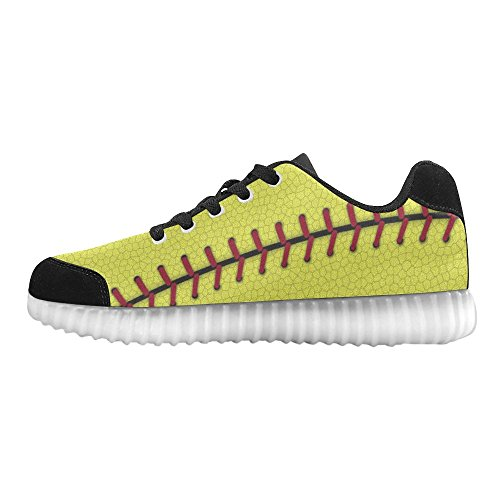 D-Story Winged Eye Fashion Sneakers Light Up Womens Shoes Multicoloured39 M2VKeYKBE