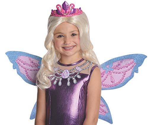 Barbie Fairytopia Mariposa and Her Butterfly Fairy Friends Mariposa Barbie's Catiana Wig with Attached Tiara Costume]()