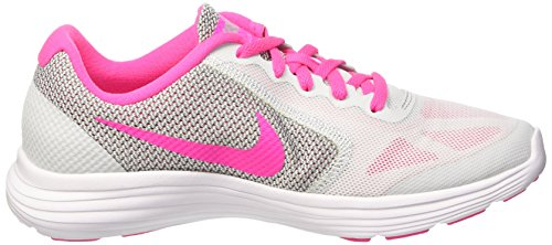 3 Platinum Wolf Niñas GS Revolution Zapatillas Grey Multicolor Pure para 007 Pink White Nike Blast 4P5qTnn