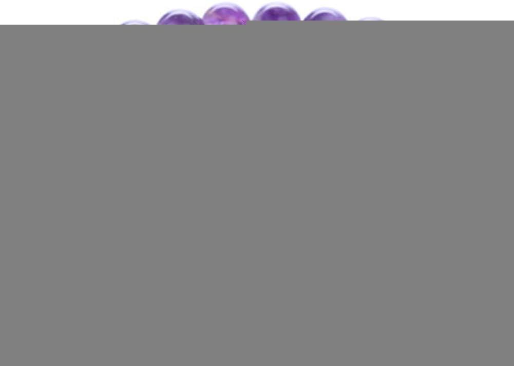 HMKLN Nueva Piedra Redonda de Piedra Lunar de 8 mm de Piedra Natural Estirada Pulsera Moldeada para Las Mujeres 7 Colores