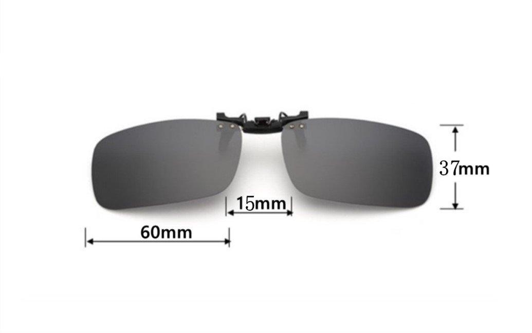 UK1stChoice-Zone Hombre Mujer Unisex Polarizado Clip en Las Gafas de Sol CLIPON1302 (Oro Mercurio): Amazon.es: Ropa y accesorios