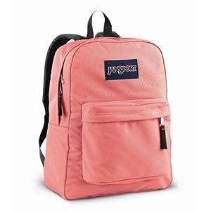 JanSport T501 Superbreak Backpack - Coral Sparkle