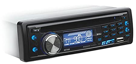 amazon com boss audio 637ua single din cd mp3 player receiver rh amazon com