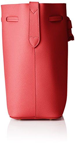 Twin Set As7pwr, Borsa a Secchiello Donna, 11.5x27x23 cm (W x H x L) Rosso (Ultra Red)