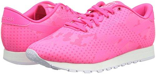 Reebok Classic Nylon Jacquard Schuhe solar pink-white - 38,5