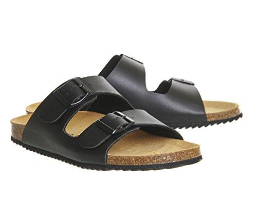 Office Hype 2 Double Strap Sandals Black JyhqGLcRf8