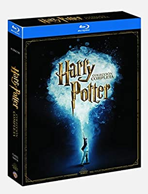 Harry Potter Colección Completa Ed19 Bd [Blu-ray]: Amazon.es ...