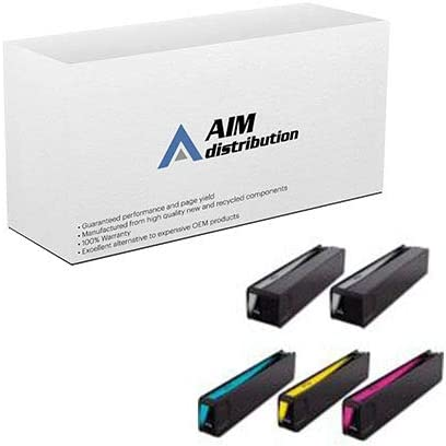 - Generic 2-BK//1-C//M//Y AIM Compatible Replacement for HP NO 971XL GSA Inkjet Combo Pack CN62AM2012B1CMY 970XL//NO