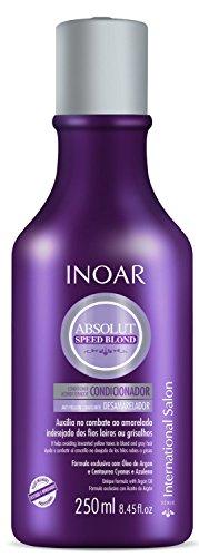 Condicionador Speed Blond Matizador 250 ml, Inoar, Transparente