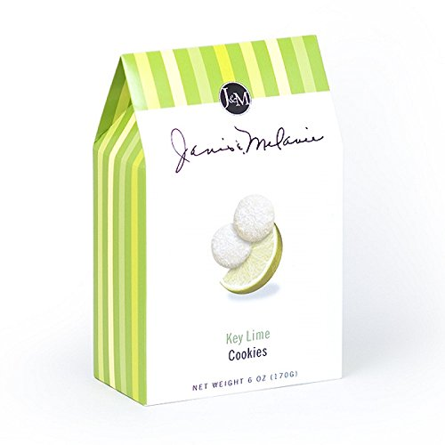 J&M Foods Key Lime Cookies, 6 Ounce by J&M Foods