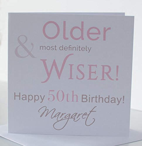 Personalised Birthday Card For Mum Daughter Sister Wife Grandma Nan Auntie Special Friend Best Niece