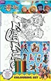 ZingZillas: Colouring Set with Pencils and Stickers