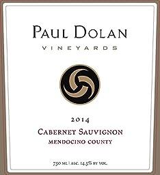 2014 Paul Dolan Vineyards Cabernet Sauvignon Mendocino County 750 mL Wine