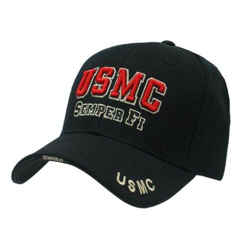 Rapid Dominance Legend Military Cap USMC - Black