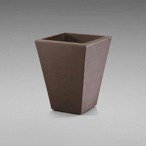 Latin Spirit EP-LSSAL-COP-16 16 x 16 x 16.25 in. Salvador Square Planter44; Dark Copper by Latin Spirit